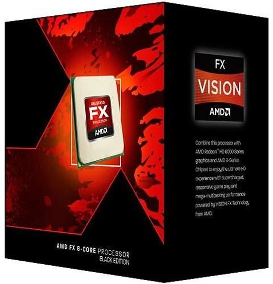 AMD FX 8320E Black Edition 3.2GHz 8MB L3 Box processor