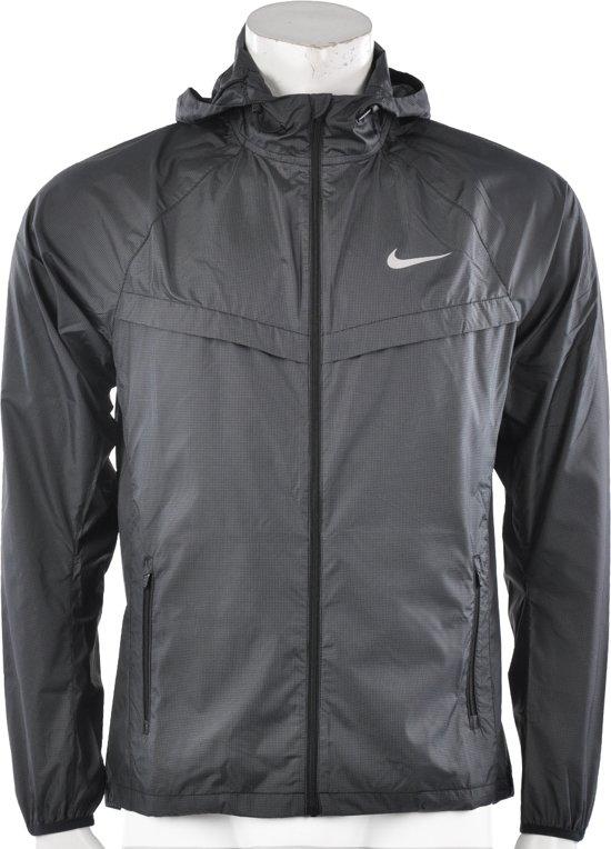 Nike Racer Jacket - Sportshirt -  Heren - Maat XXL - Zwart