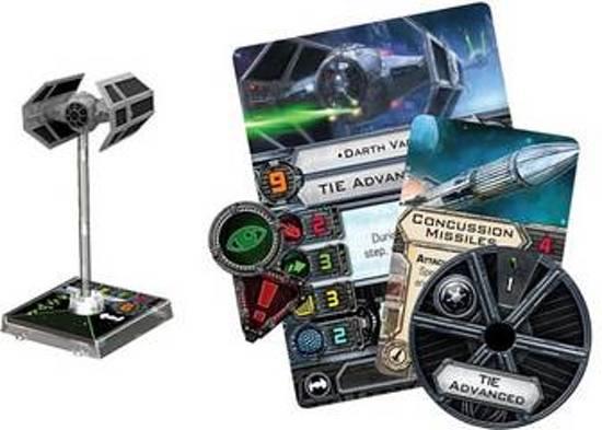 Afbeelding van het spel Star Wars X-Wing - Tie Advanced Expansion