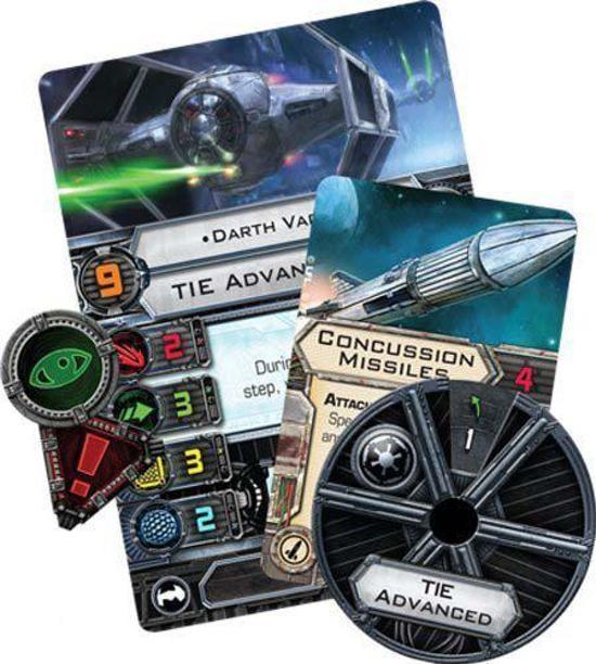 Thumbnail van een extra afbeelding van het spel Star Wars X-Wing - Tie Advanced Expansion