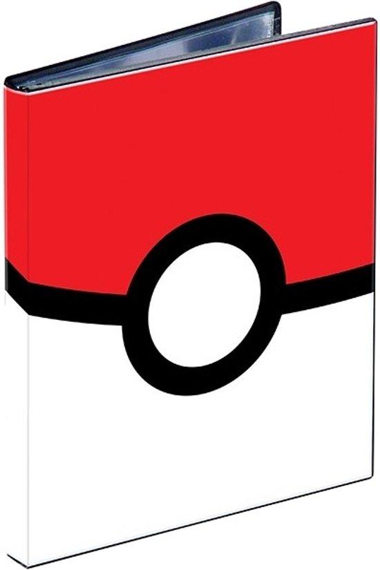 Afbeelding van het spel Pokemon verzamelmap 4-pocket Pokeball