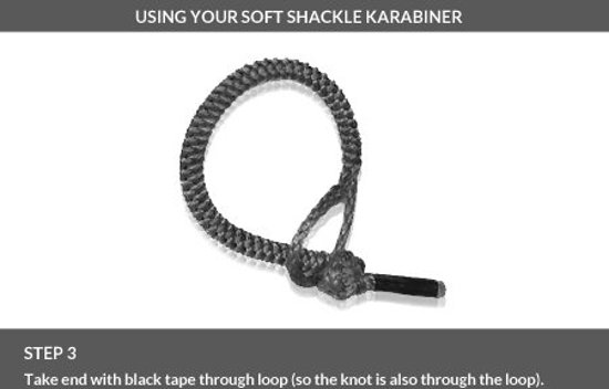 DD Hammocks Soft Shackle Karabiners