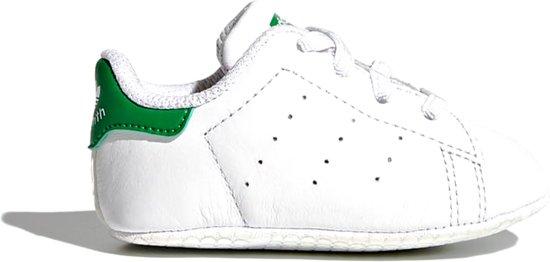 3babbc3a7191e adidas STAN SMITH CRIB B24101 - schoenen-sneakers - Unisex - wit groen -