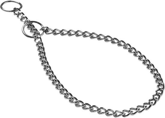 Adori Halsketting Fijn Chroom - Hondenhalsband - 45x0.20 cm