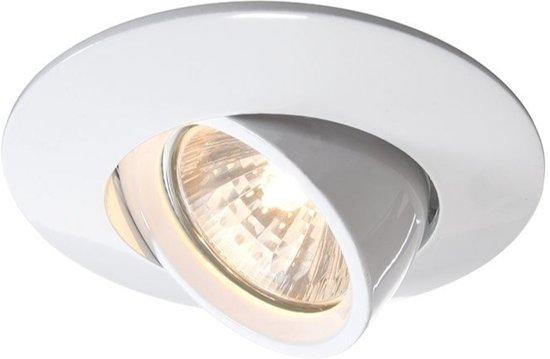 Zoomoi inbouwspots wit - Kantelbaar - GU5.3 - 12V - rond Inbouwspot - Geschikt voor LED