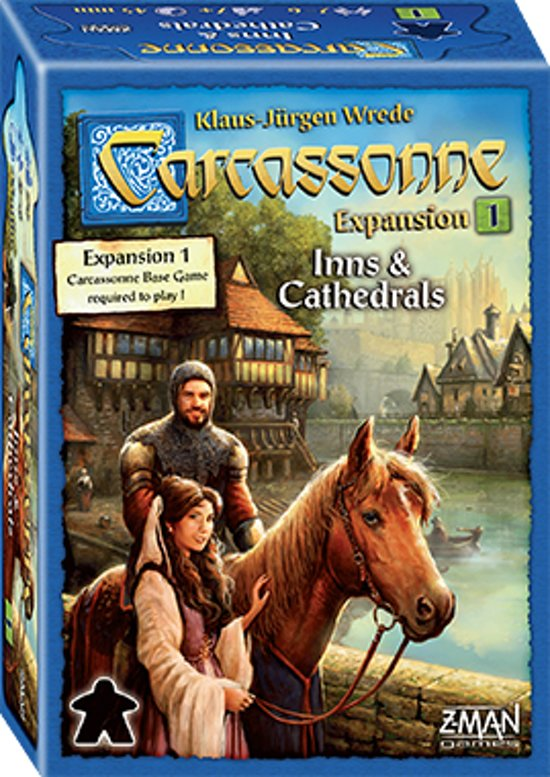 Afbeelding van het spel Carcassonne Inns and Cathedrals New Edition