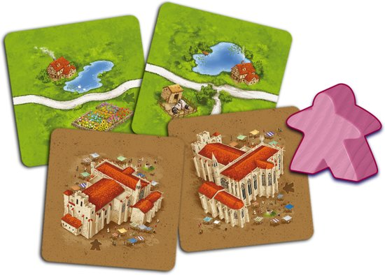 Thumbnail van een extra afbeelding van het spel Carcassonne Inns and Cathedrals New Edition