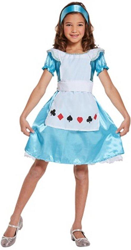 c8a82c132d4133 KINDEREN MEISJES 3-Delig Schattig Alice in wonder land Jurkje