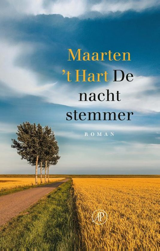 Boek cover De nachtstemmer van Maarten t Hart (Hardcover)