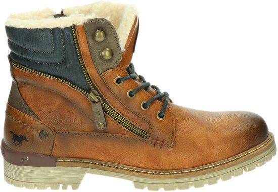 Mustang heren boots - Cognac - Maat 43