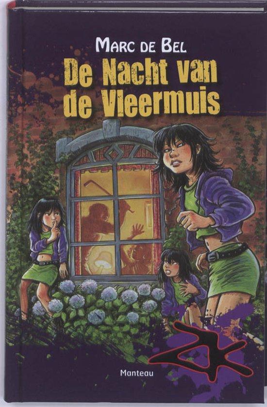 Boek cover De nacht van de vleermuis van Marc de Bel (Hardcover)