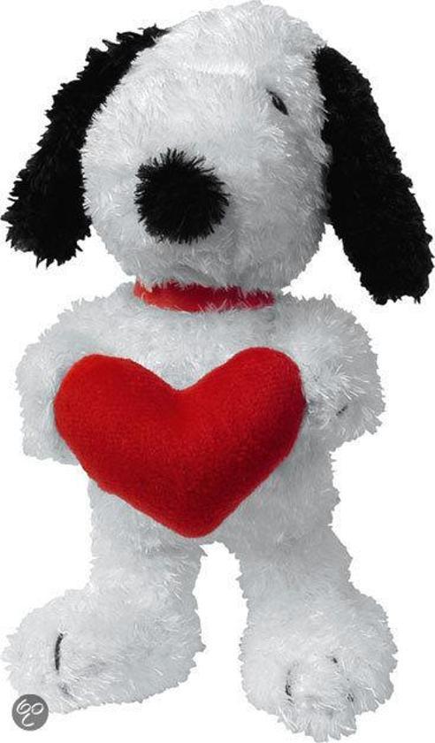 Snoopy Knuffel met Hartje