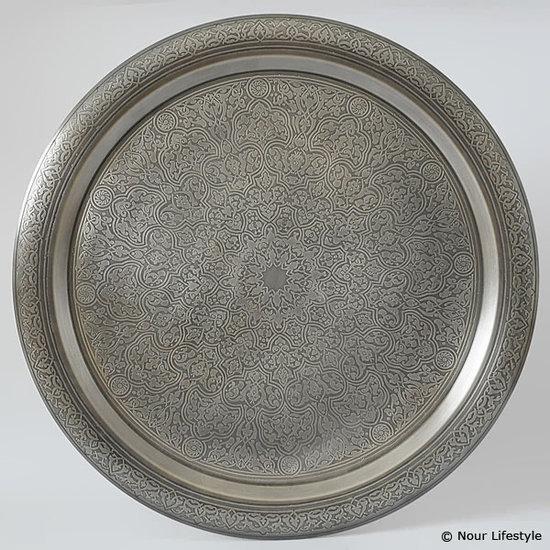 Nour Lifestyle dienblad Setta (mat) ø 70 cm - maat XL