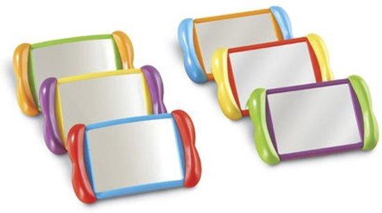 Afbeelding van het spel Dubbelzijdige spiegels (set van 6)