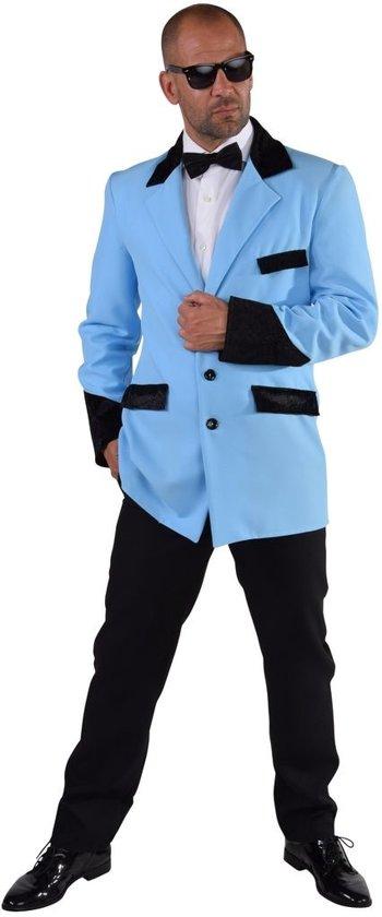 Rock & Roll Kostuum | Rocka And Roll Jas Buddy Man | Medium | Carnaval kostuum | Verkleedkleding