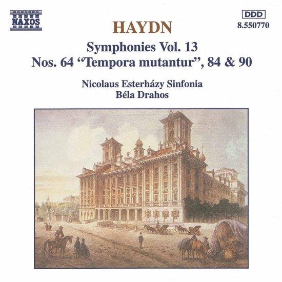 Haydn: Symphonies nos 64, 84 & 90 / Bela Drahos