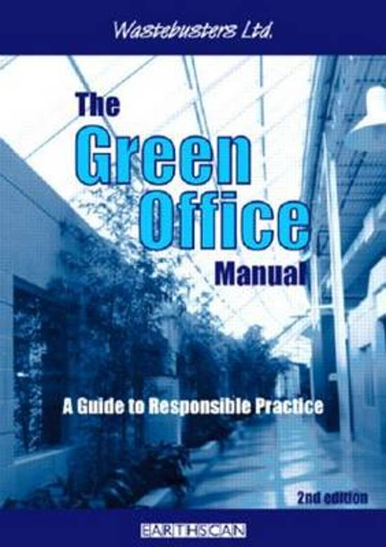 The Green Office Manual