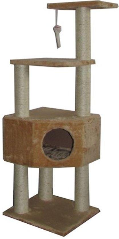 Krabpaal susan beige 40x40x120 cm
