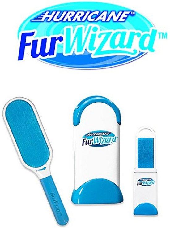 Hurricane Fur Wizzard - Borstelharengrijper