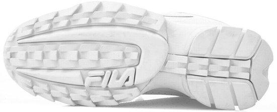 Low White Sneakers Heren Disruptor Fila vqwHFF