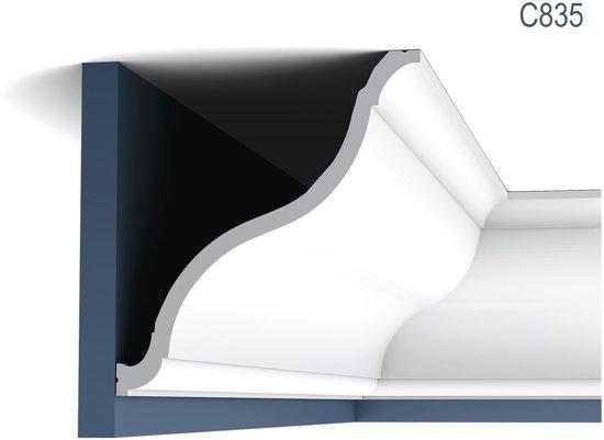 Kroonlijst Orac Decor C835 XTERIO Sierlijst tijdeloos klassieke stijl wit 2m