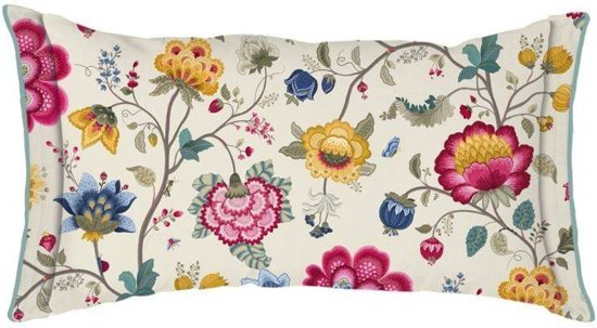 Pip Studio Floral Fantasy Kussen - 35x60 - Ecru