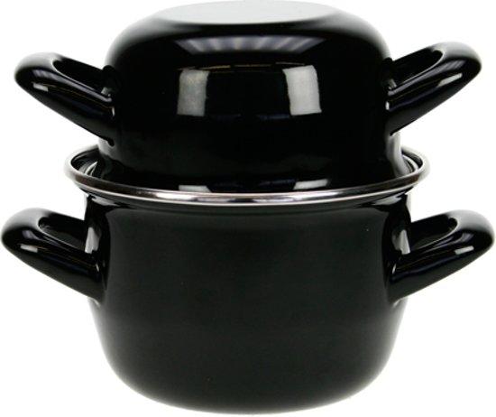 Cosy&Trendy Mosselpan - ? 12 cm - Zwart