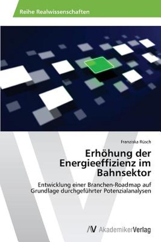 Erhohung Der Energieeffizienz Im Bahnsektor