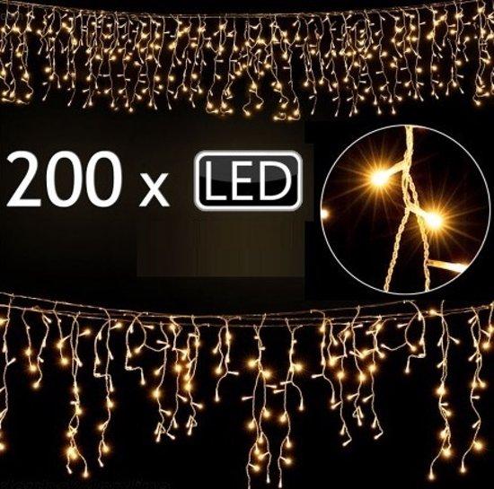 200 led verlichting lichtketting voor binnen en buiten