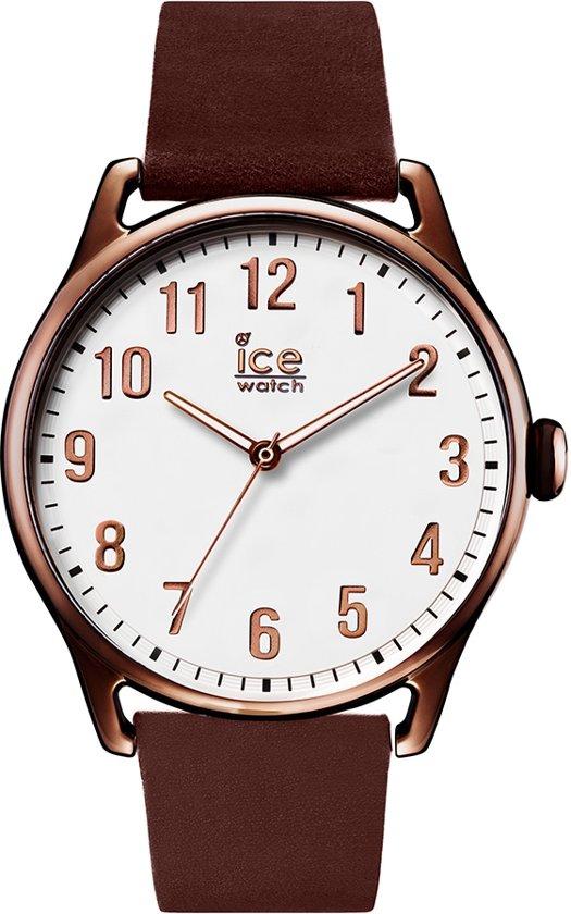 Ice-Watch IW013047 Horloge - Leer - Bruin - 41 mm