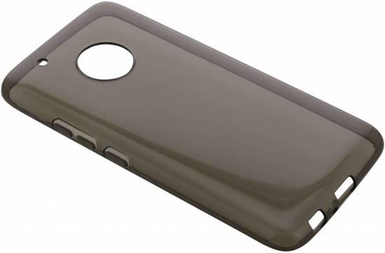 Cas De Gel Gris Transparent Pour Motorola Moto G5, Plus