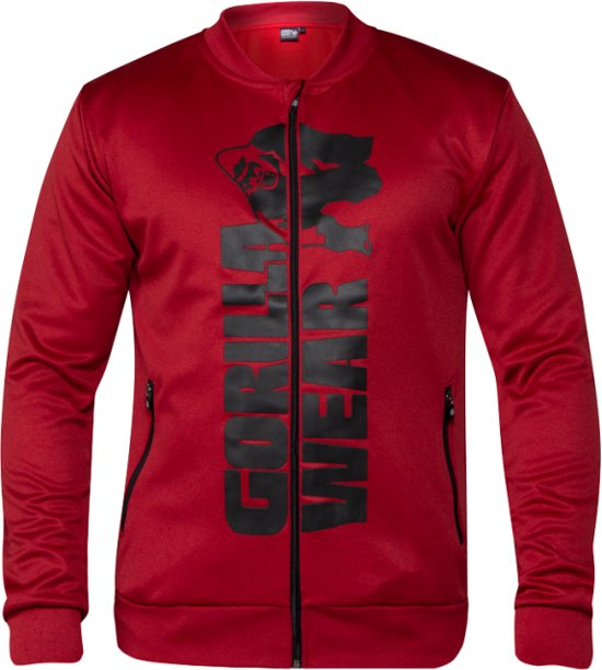 Black Xl Jacket Track Gorilla Ballinger Wear Red wzAZpZq