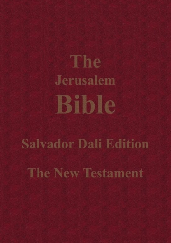 Bol Com The Jerusalem Bible Salvador Dali Edition The New