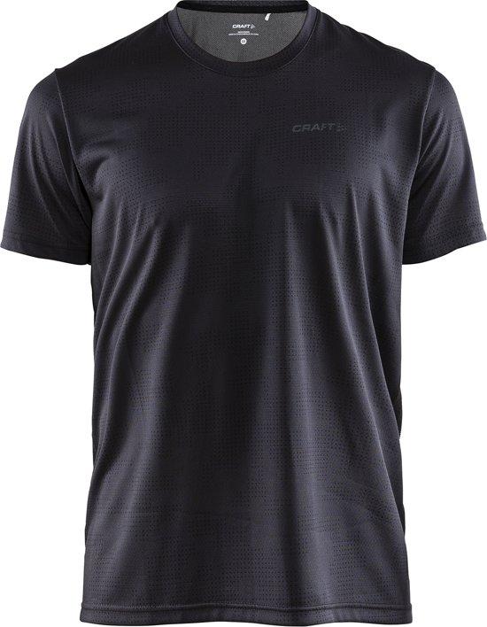 Craft Eaze Ss Tee M Sportshirt Heren - P Camo Crest