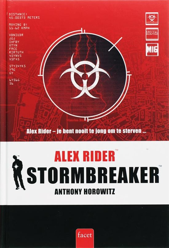 alex rider stormbreaker Stormbreaker, the first in the series of adventure novels by anthony horowitz hero alex rider is a kind of young james bond working for the british intelligence service.