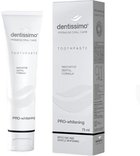 Dentissimo tandpasta PRO-whitening 75ml