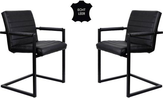 Feel Furniture - Conference stoel set 2- Zwart