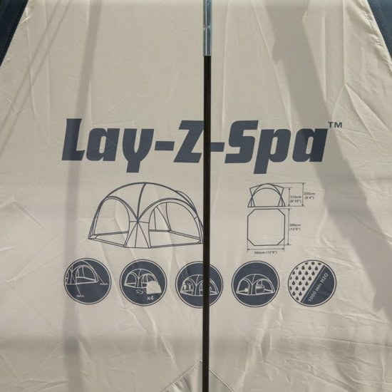 Bestway Lay-Z-Spa Koepeltent voor hottubs 58460