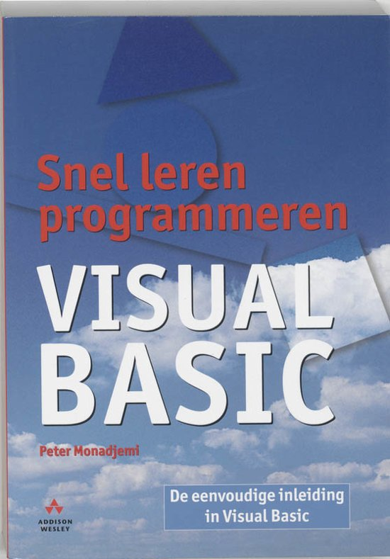 Snel Leren Programmeren Visual Basic