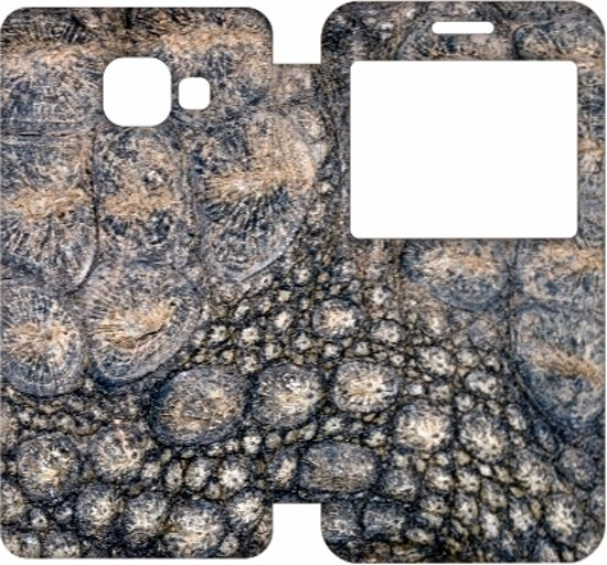 Uniek Design Cover Krokodillenprint  Samsung Galaxy A3 2016 in Noardburgum / Noordbergum-dorp