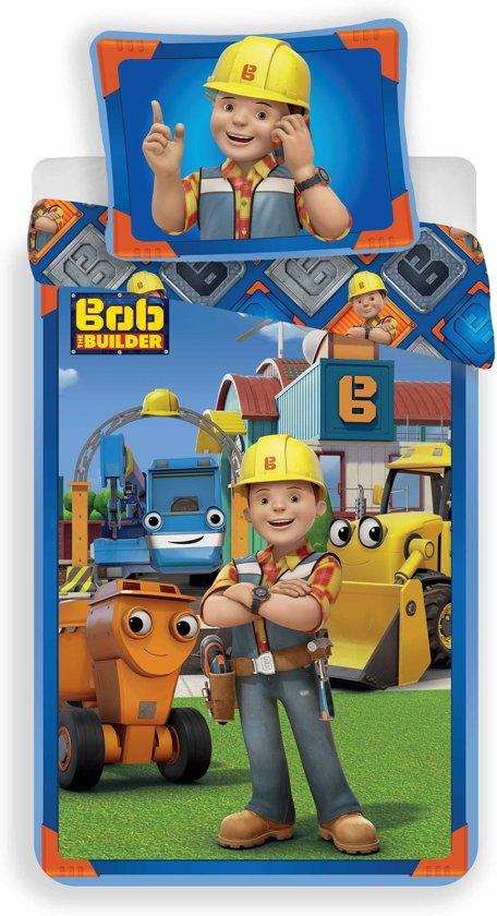 Bob de Bouwer Team - Dekbedovertrek - Eenpersoons - 140 x 200 cm - Multi