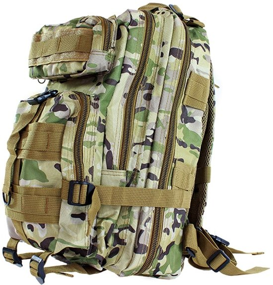 be005c72b3b Militaire Leger Camouflage Rug Zak - Outdoor Tactical Survival Camo  Backpack - 30 Liter