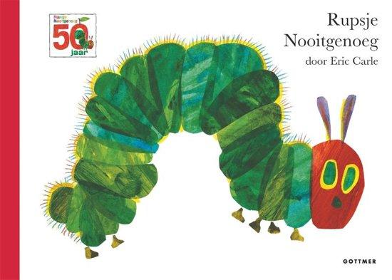 Kinderboeken Rupsje Nooitgenoeg jubileumeditie (linne