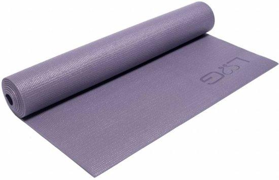 Love Generation - Yogamat - 183 cm x 61 cm x 0,4 cm - Lavendel Grijs