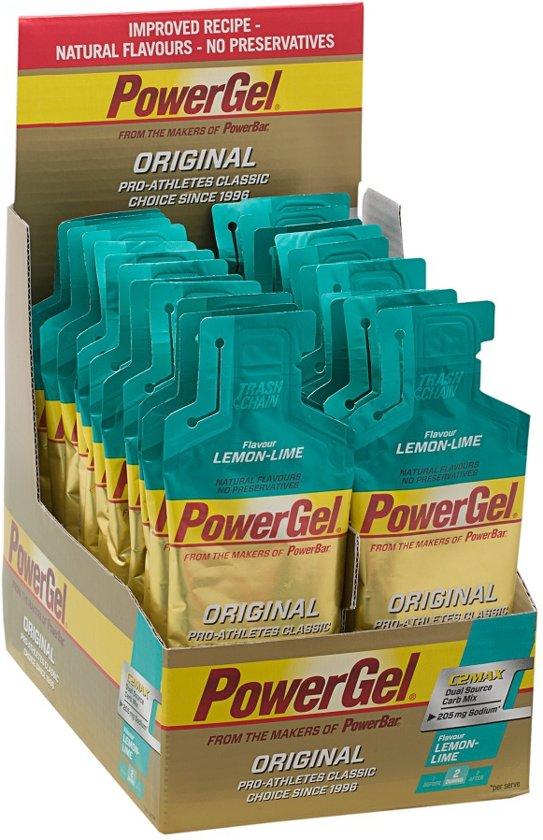 Powerbar PowerGel - 24 pack - Lemon Lime