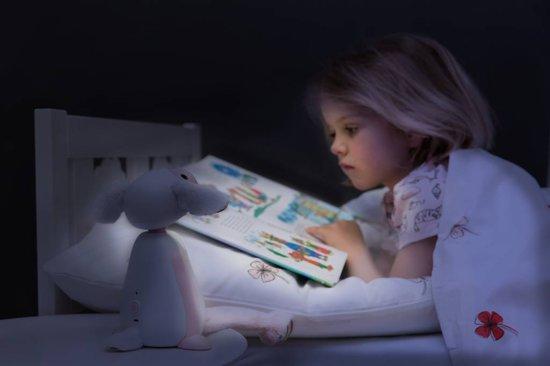 Zazu - Fin 2.0 - Roze - Nachtlampje - Schaaplampje - Leeslampje geschikt voor in bed