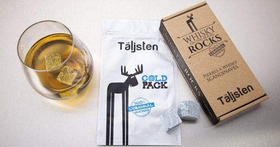 Taljsten - 8 Stenen voor whisky on the rocks