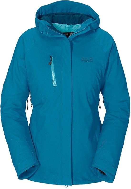 goedkoop kopen knap om te kopen Jack Wolfskin Troposphere Women dames - winterjas - XL - blauw