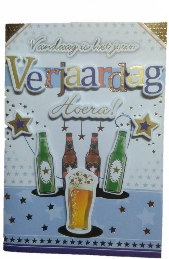 Bol Com Card Xpress Kaart Verjaardag Bier