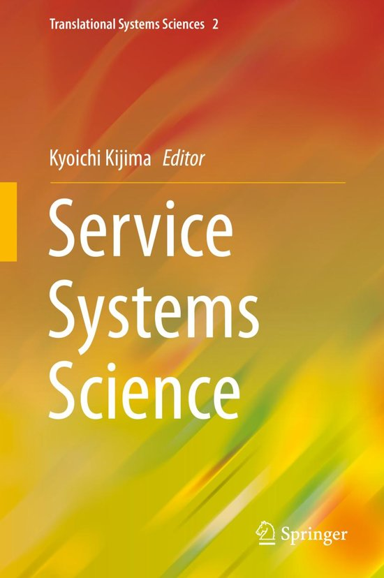 Service Systems Science